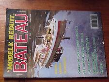 4µ?§ Revue MRB n°344 Ancre ancienne Steam Launch Cageot de noix