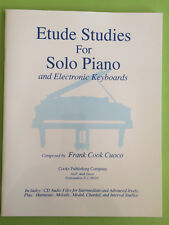 Etude Studies for Solo Piano and Electronic Keyboard, Frank Cook Cuoco