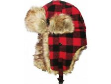 ade0d6d93a839 Trapper Bomber Mens Ladies Winter Trooper Aviator Cap Caps Fur Ear flap Ski  Hat
