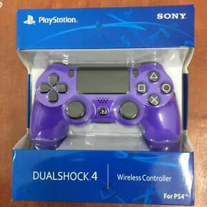 Electric Purple Dualshock Wireless PS4 Controller for Playstation 4 + USB Cable