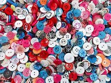150pcs Button Vintage Gingham Glitter Clear Sewing Scrapbooking Lady Assorted