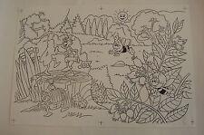 Originalzeichnung / Biene Maja