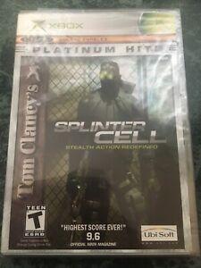 Tom Clancy's Splinter Cell Platinum Hits - BRAND NEW, *SEALED* (Xbox, 2002)