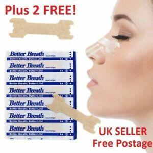 5-1000 Nasal Nose* Sleep strips better breathe Stop Snoring Breath Easier UK NAS