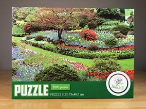 Bakker - 1000 Piece Jigsaw Puzzle - Garden - Flowers - Landscaping - Summer