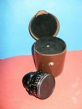 Russian cine lens Vega-7 2/20mm for Krasnogorsk - Using lens on camera BMPCC
