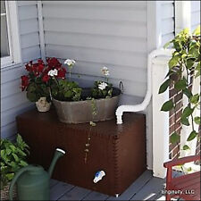 Rain Barrel RainReserve 50 Gal Build-a-Barrel Tank and Diverter Kit
