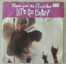 "Prince And The Revolution, Let's Go Crazy/Take Me With U 7"", Warner Bros"