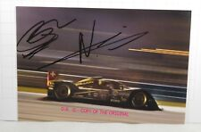 PHOTO cm10x15 AUTOGRAPHED SIGNED by Neel Jani + Nicolas Prost REBELLION WEC 2012