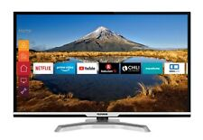 Telefunken 32 Zoll Fernseher HD ready Smart TV WLAN Prime Video Triple Tuner