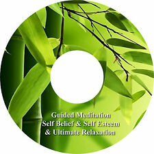 Guided Meditation Self Belief Self Esteem & Relaxation Music On CD Stress Relief