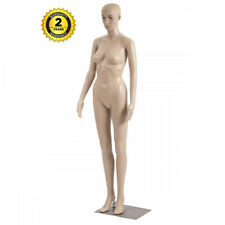 Female Full Body Mannequin Plastic Realistic Display Head Turn Dress Form Withbase