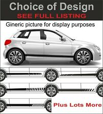 mercedes slk class side stripes decals graphics stickers all years