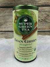 The Republic Of Tea - Organic Lean Green Super Green Tea Matcha And Garcinia NEW