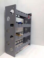 Mobile porta bottiglie cantinetta vino in acciaio  verniciato 24 posti enoteca