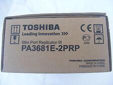 Nueva Toshiba Docking Station Replicador De Puertos + Psu pa3681e-2prp