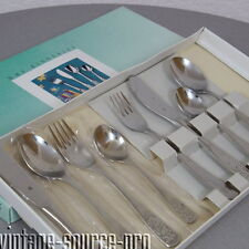 altes WMF Cromargan Kinderset Besteck Kinderbesteck 8 teilig Vintage 90er J. OVP