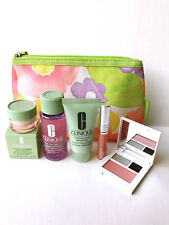 Clinique 6pc GiftSet Shadow Moisturizer Lipgloss Cleanser Makeup Mothers Day