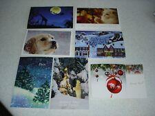 LOT de 7 CARTES de NOEL / NOUVEL AN fantaisies avec enveloppes - NEUVES