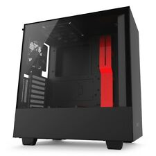 NZXT H500i Matte Black/Red Mid Tower Case