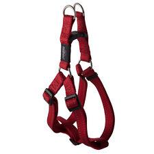 Rogz Red-Step in Harness-Snake-Medium