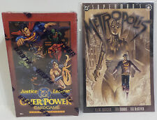THE DC UNIVERSE : JUSTIC LEAGUE OVERPOWER CARDGAME EXPANSION SET SEALED BOX