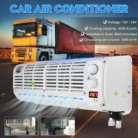 12V/24V Car Hanging Air Conditioner Fan Fit For Car Caravan Truck Bus Evaporator