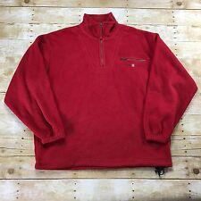 6da524ead9 Gant U.S.A. Rugger Red Fleece Jacket Outdoor Menswear Mens Size XL