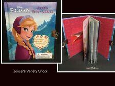 Anna's Book of Secrets Lock & Key Diary Frozen