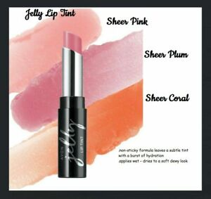 Avon Jelly Lip Tint, SHEER PLUM , New, boxed,