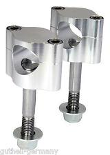 Lenkerklemmen / Klemmböcke hochwertig für 22 + 28 mm Lenker CNC-gefertigt MX