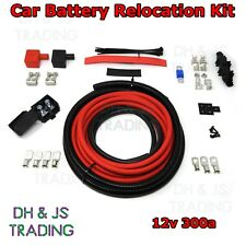 4M Car Battery Relocation Kit - Track Race Conversion Boot Racing 300a 12v