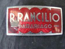 Placca Rancilio macchina da caffè espresso a leva macinacaffè emblem old coffee