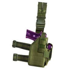 NcSTAR Tactical Drop Leg Standard Pistol Holster Mag Pouch OD Green CVDLHOL2954G