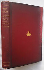 CHARLES DICKENS.EDWIN DROOD AND REPRINTED PIECES.H/B 1891,16 B/W ILLUSTRATIONS