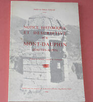 MONT DAUPHIN HAUTES ALPES Notice Historique Description 1966