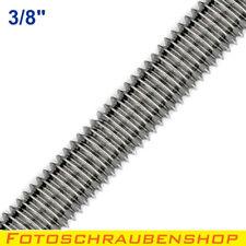 "1x 3/8""- Edelstahl-Gewindestange, 15 cm lang (Kamera, Fotogewinde, Foto, 3/8"")"
