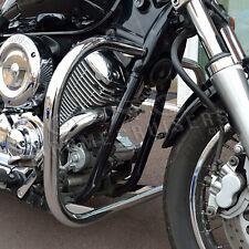YAMAHA XVS 1100 DRAGSTAR V-STAR CLASSIC CUSTOM CHROME ENGINE GUARD / CRASH BAR