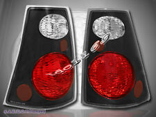 2001-2005 Ford Explorer Sport Trac Tail Lights Black JM