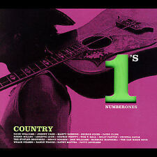 Number 1's: Country [Remaster] (CD, Apr-2007, Hip-O) NEW