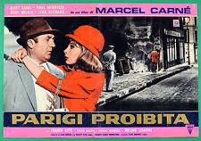 T63 FOTOBUSTA  PARIGI PROIBITA MARCEL CARNE' DANY SAVAL PAUL MAURISSE DELAIR 6