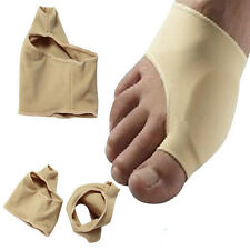1pair Skin Color Bunion Protector Sleeve Fabric Toe Pads Cushion Hallux Valgus