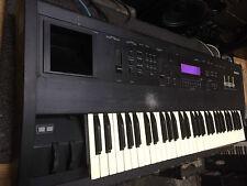 Purple LCD Ensoniq ASR 10 KEYBOARD SAMPLER 16 meg/61 key/ASR10,ASR-10//ARMENS.