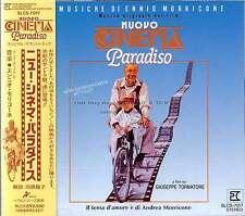 "Ennio Morricone ""Nuovo Cinema Paradiso"" score Japan Slc Cd out of print"