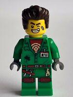 HIDDEN SIDE LEGO GENUINE MINI FIGURE ELTON MR GHOST, HALLOWEEN 70418