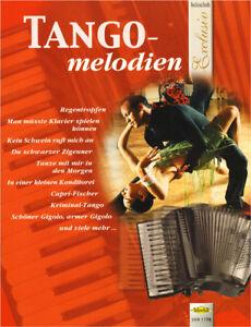 Holzschuh Exclusiv Tangomelodien Tango Melodien Noten für Akkordeon