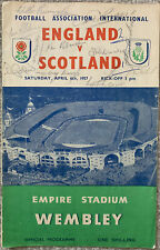 More details for england v scotland 1956/57 signed on cover by 11 leicester city players
