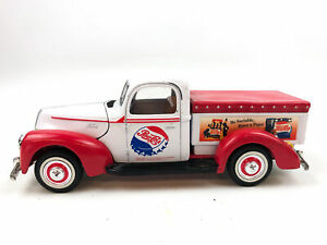1940 Ford Pickup Truck Pepsi Cola Soda Golden Wheels Diecast Collectibles 1:24