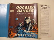 Dogsled Danger, West Lathrop, Dust Jacket Only