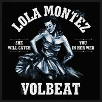 Volbeat Lola Montez Patch Official Heavy Metal Rock Band Merch New